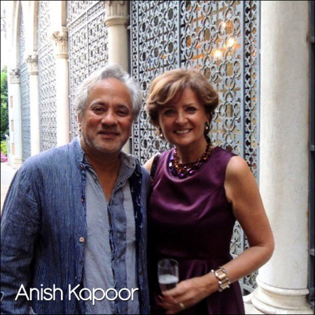 Anish Kapoor at Palazzo Franchetti for Genius Loci's opening,Venice, June 2014.