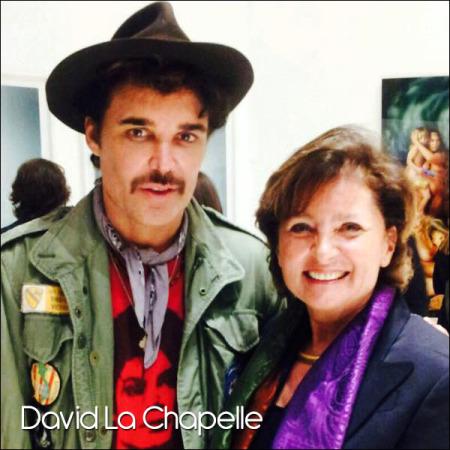 David La Chapelle's opening in Roma, Palazzo delle Esposizioni, April 2015.
