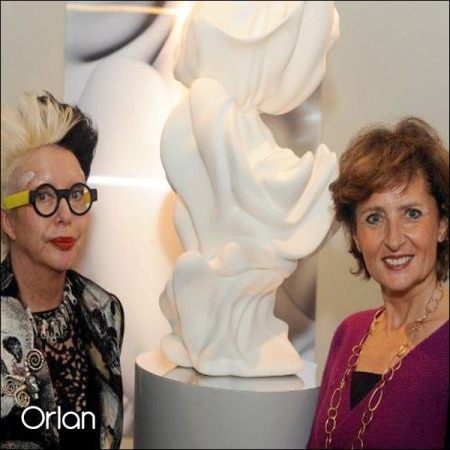 Orlan at Miami art Basel, December2012.