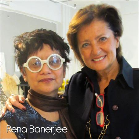Rena Banerjee, In her NY studio 2015